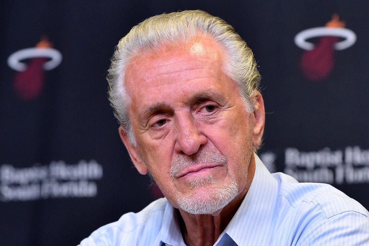 NBA: Miami Heat-Pat Riley Press Conference