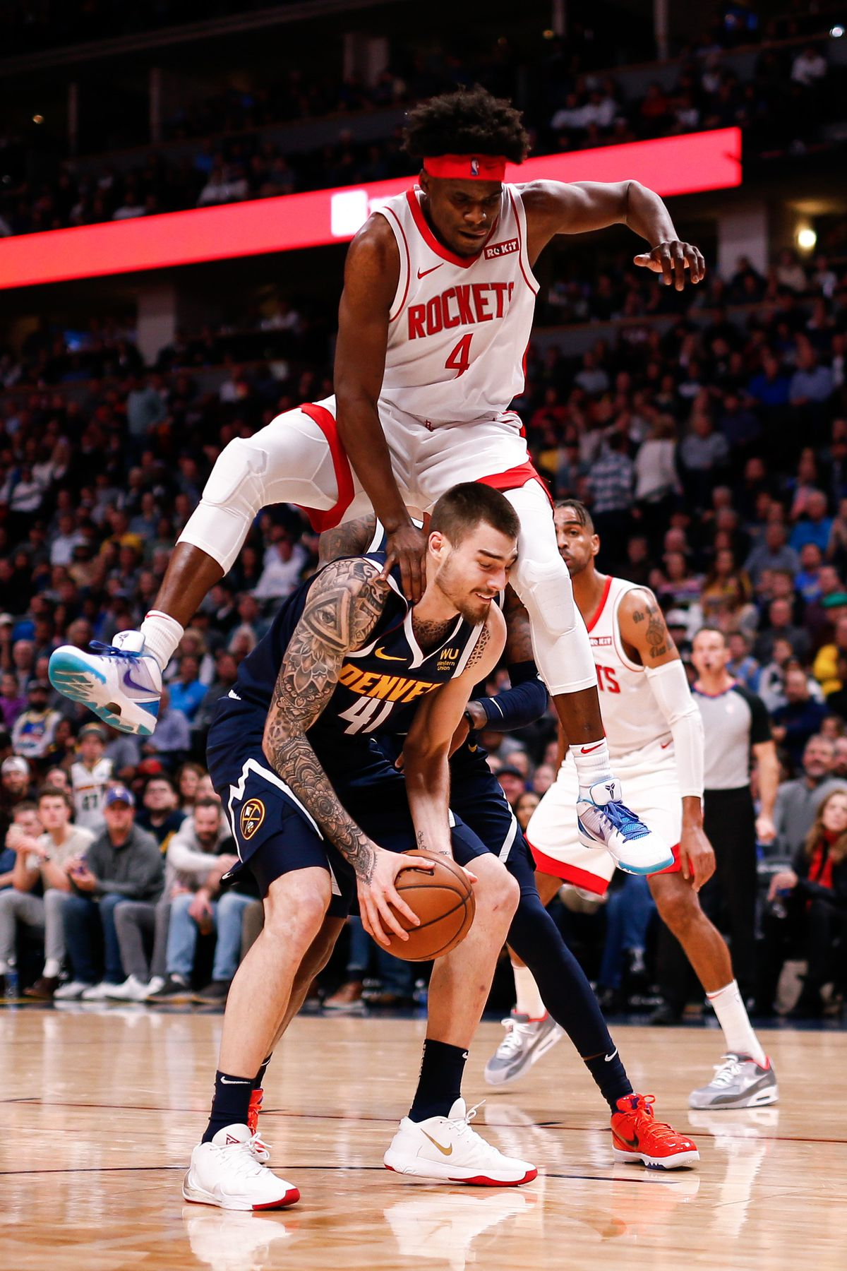 NBA: Houston Rockets and Denver Nuggets