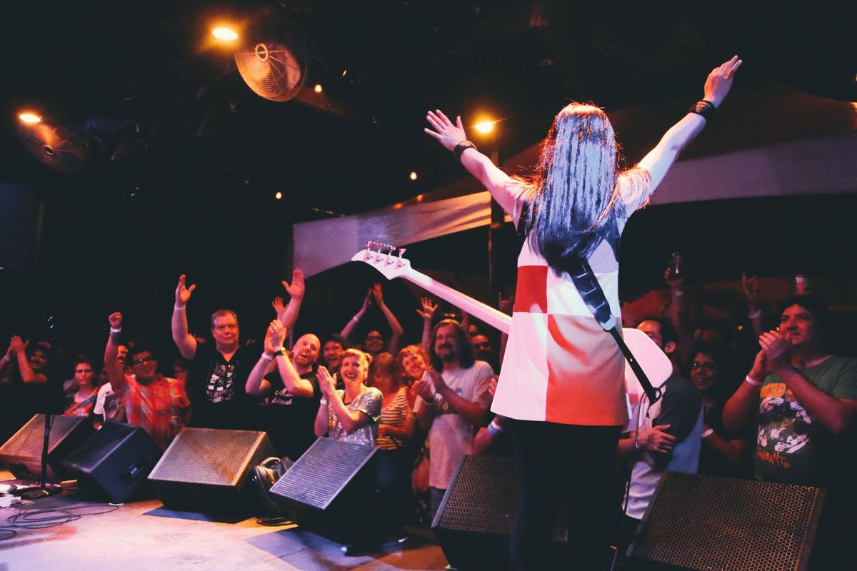 Shonen Knife at Barracuda during Hot Luck Festival in 2017
