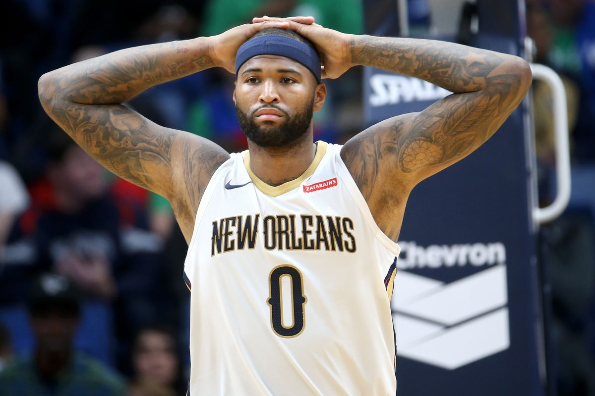 07e02f997 DeMarcus Cousins reportedly had just 1 other offer before agreeing to sign  with the Warriors