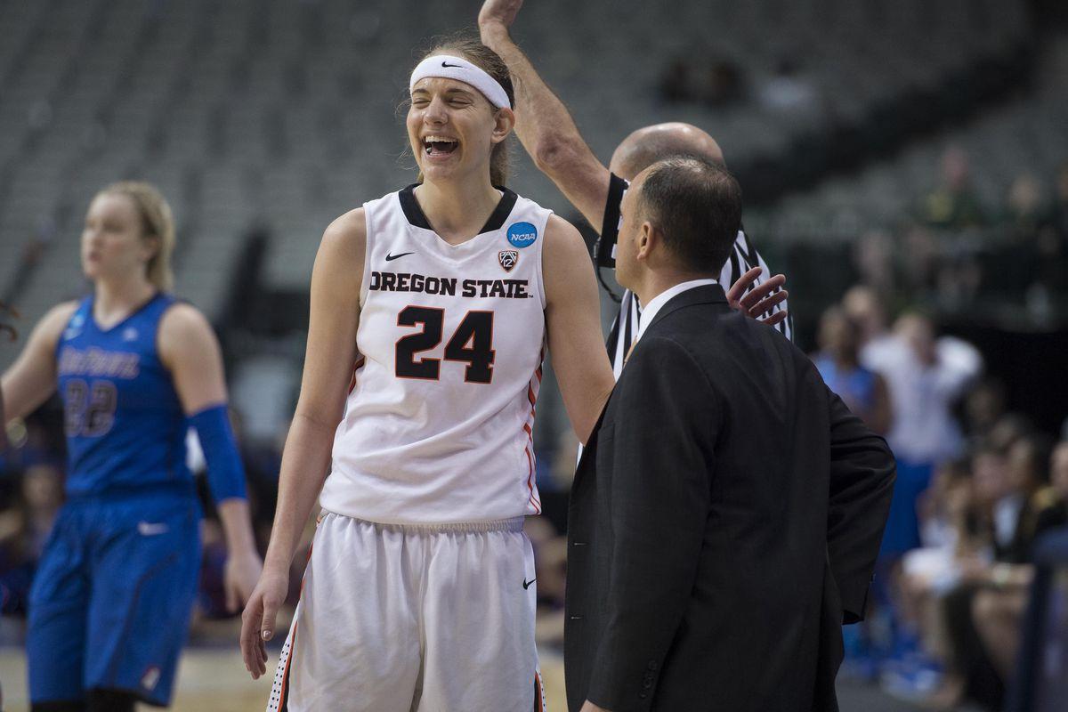 NCAA Womens Basketball: NCAA Tournament-Dallas Regional-DePaul vs Oregon State