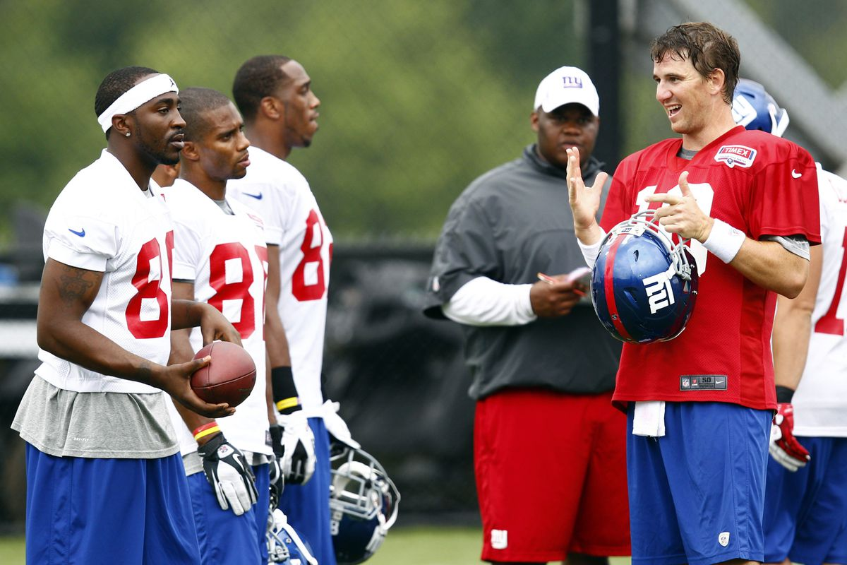 How long will Eli Manning have this group of receivers?