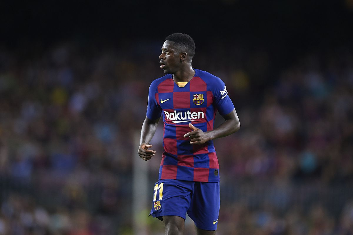 Barcelona's appeal over Ousmane Dembele red card fails