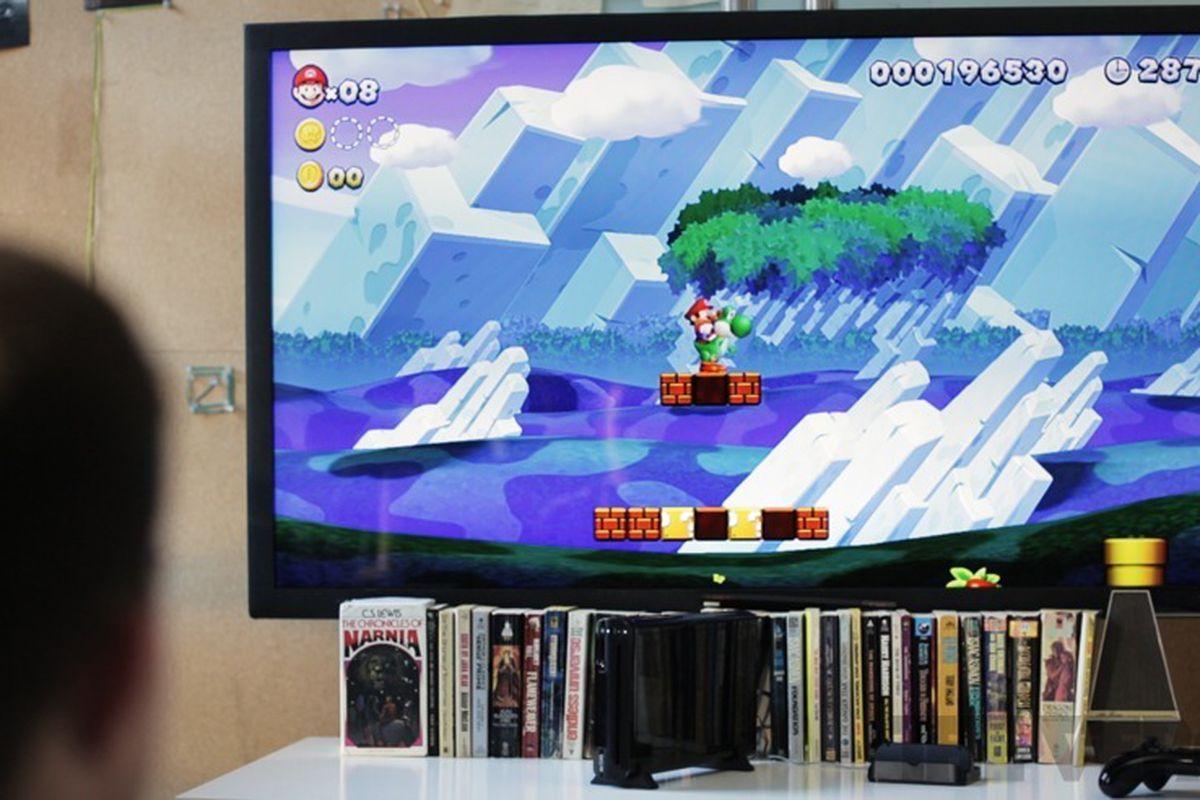 Nintendo Wii U on TV (875px)