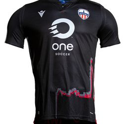 The front of Atletico Ottawa's 2020 away kit