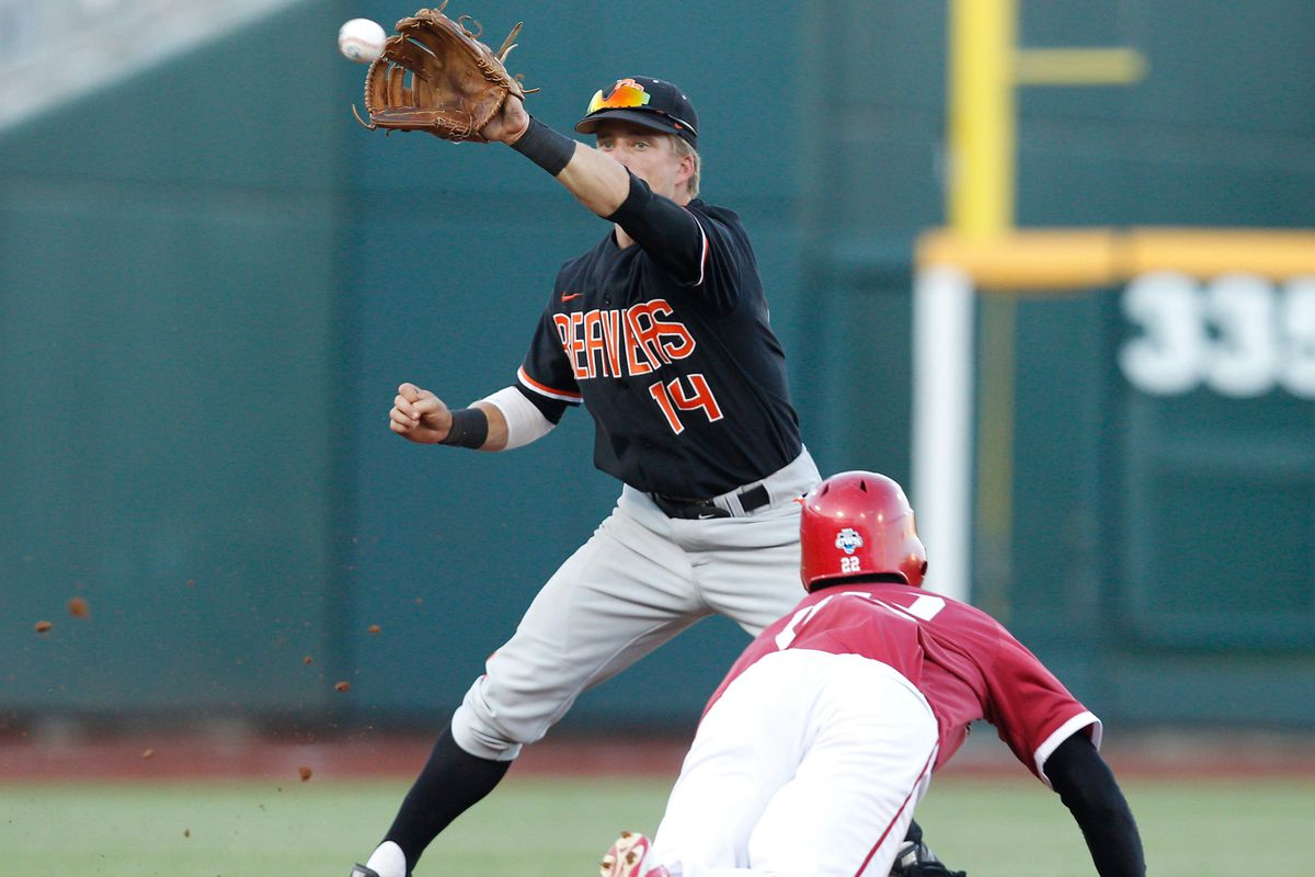Oregon State participated in the 2013 College World Series, ending Indiana's season in the process