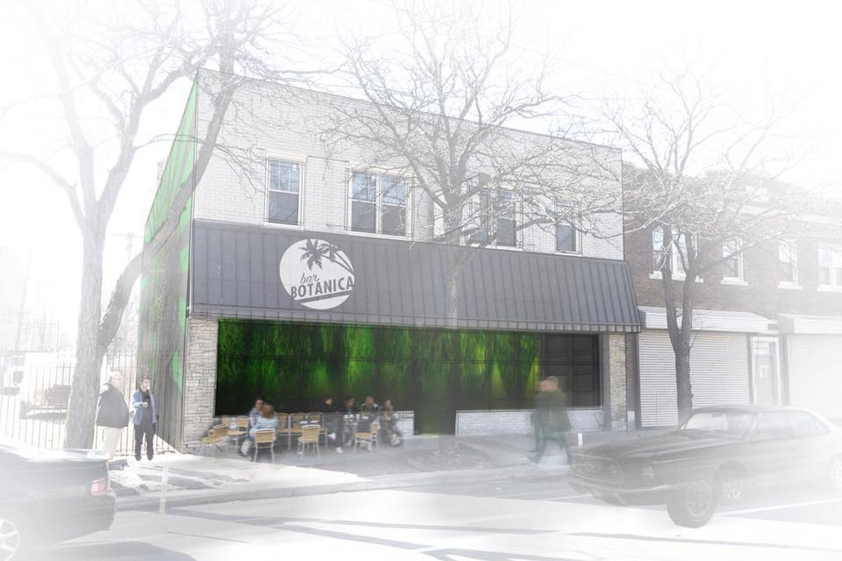 A Rendering Of Bar Botanica New Tail And Coffee Headed To Jefferson Chalmers Facebook Jason Minor