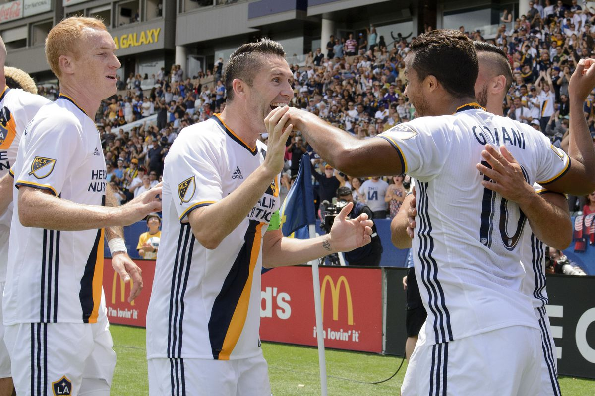 While Robbie Keane and Giovani dos Santos both scored goals for LA, Jeff Lawerentocz's solid performance in d-mid was key to the team's victory