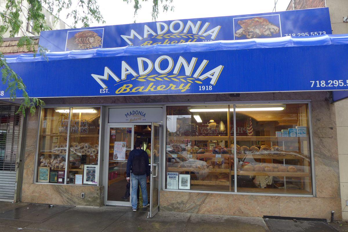 Happy hundredth birthday, Madonia!