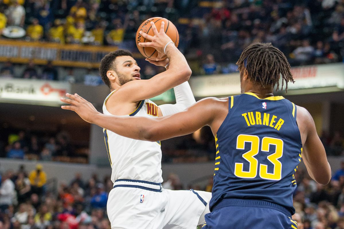NBA: Denver Nuggets at Indiana Pacers