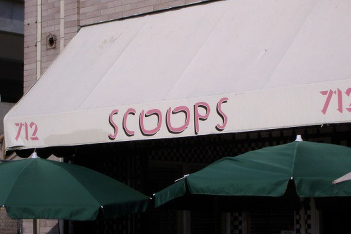 No better way to beat the heat than at Scoops.