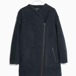 "Mango cocoon wool-blend coat, <a href=""http://shop.mango.com/US/p0/women/clothing/coats/cocoon-wool-blend-coat/?id=31065590_09&n=1&s=prendas.abrigos&ident=0__0_1411662525599&ts=1411662525599"">$149.99</a>"