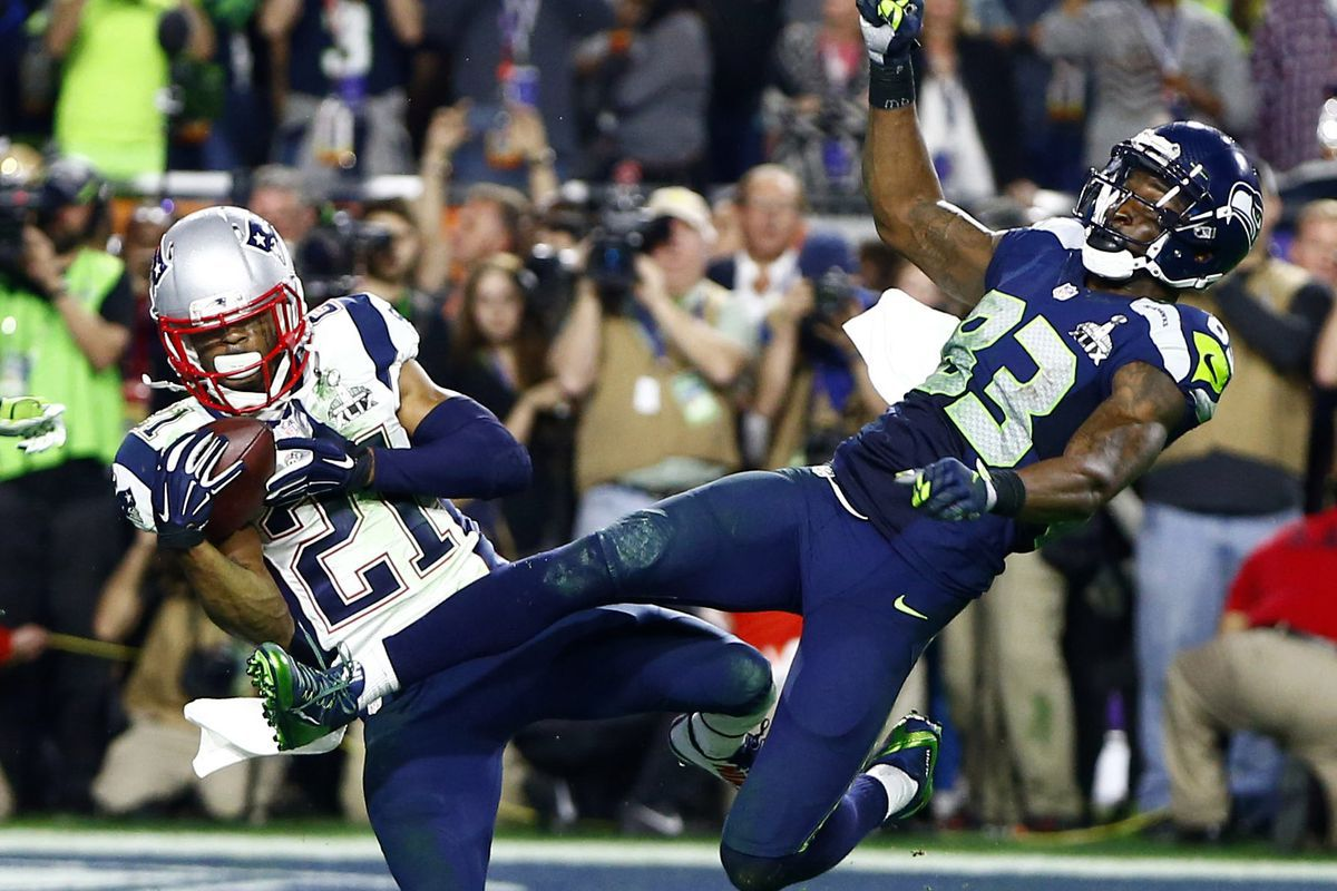 Image result for butler 2015 interception super bowl