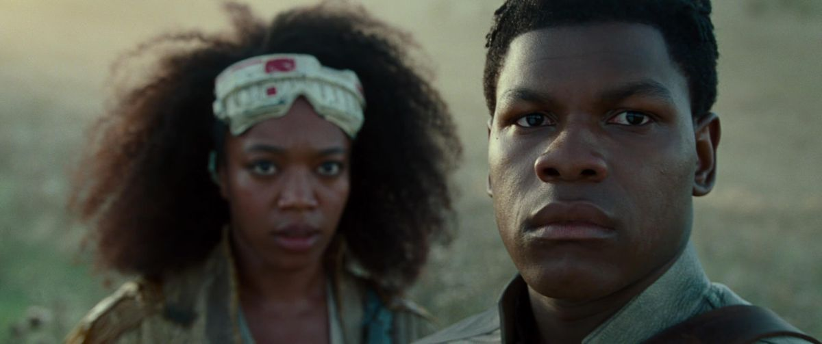 jannah and finn in star wars: the rise of skywalker