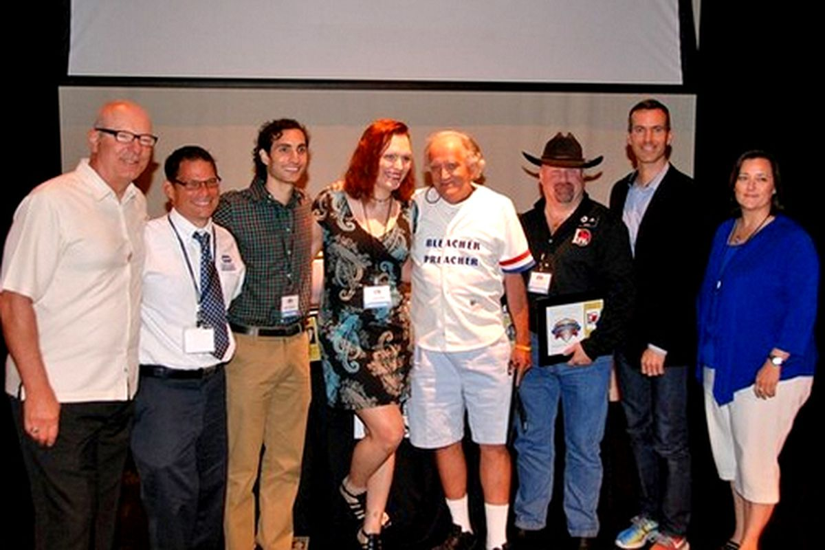 Hall of Fame inductees Dave Pallone, Federation of Gay Games' Kurt Dahl, Andrew Goldstein, Christina Kahrl, Jerry Pritikin, IGRA, Outsports' Cyd Zeigler, Chicago Cubs' Laura Ricketts