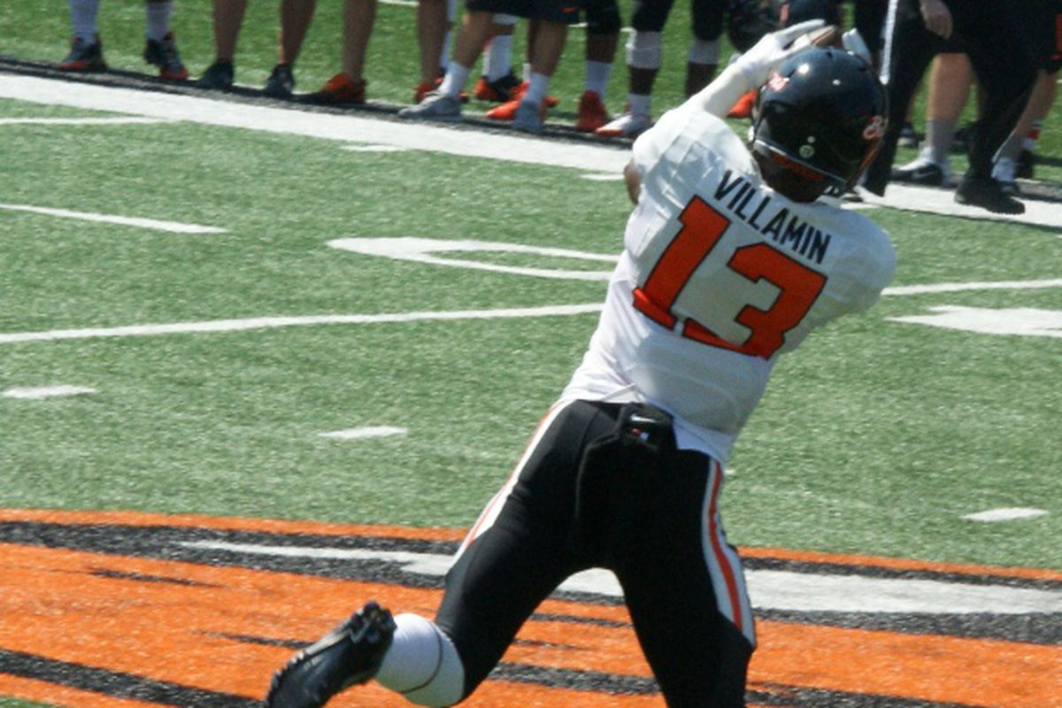 Oregon St.'s best bet might be to play for the big play as a result of the big mis-match this year.