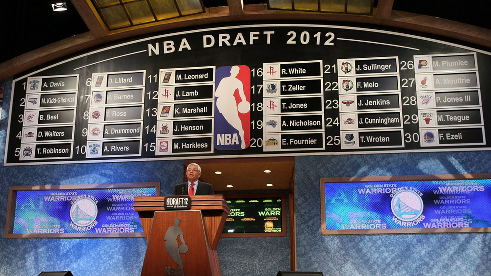 Nba Draft: NBA Draft 2012: Magic Select Andrew Nicholson, Heat Trade