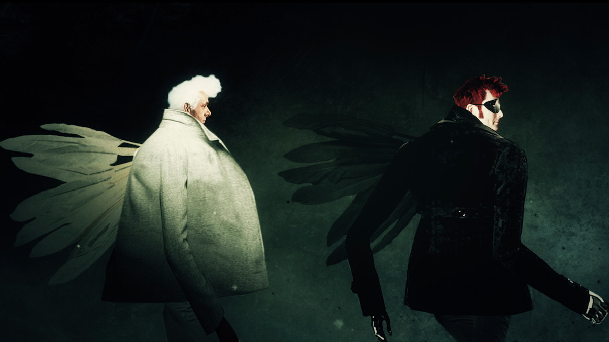 The secrets of Good Omens' openings title sequence