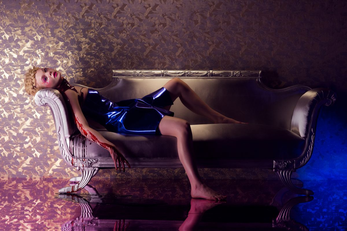 """Elle Fanning in """"The Neon Demon"""""""