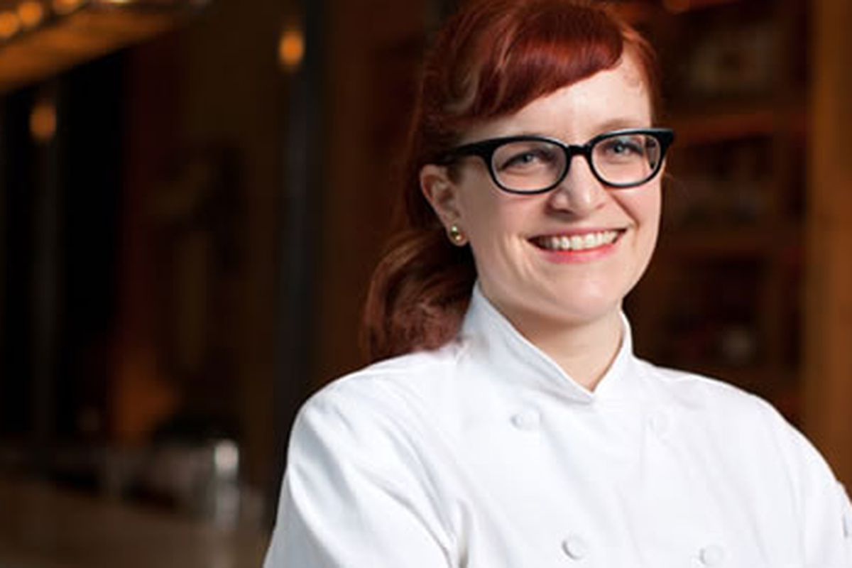 Sara May is Little Nonna's Pastry Chef