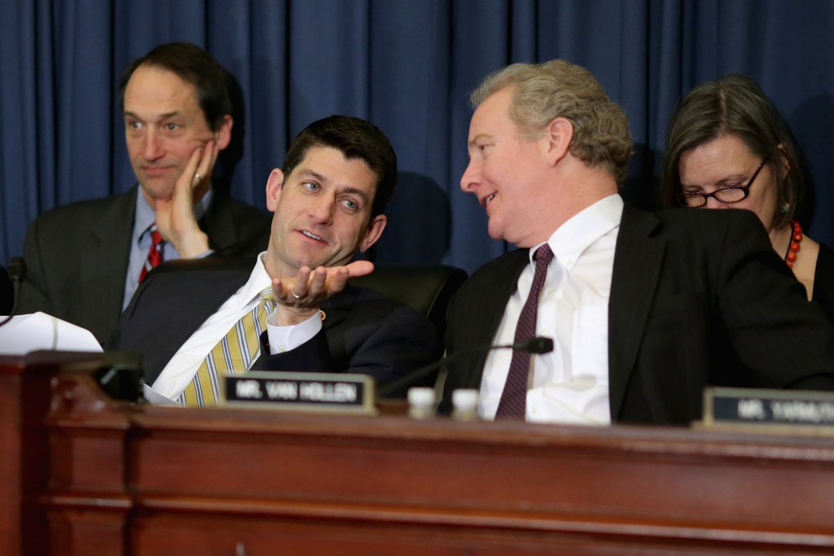 Do you agree with Paul Ryan or Chris Van Hollen's policies? Depends on how the economy is doing.