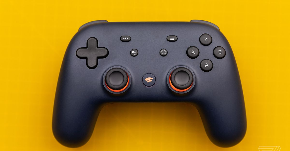 Google Stadia has figured out a way to ditch the fancy gamepad for TV play - The Verge