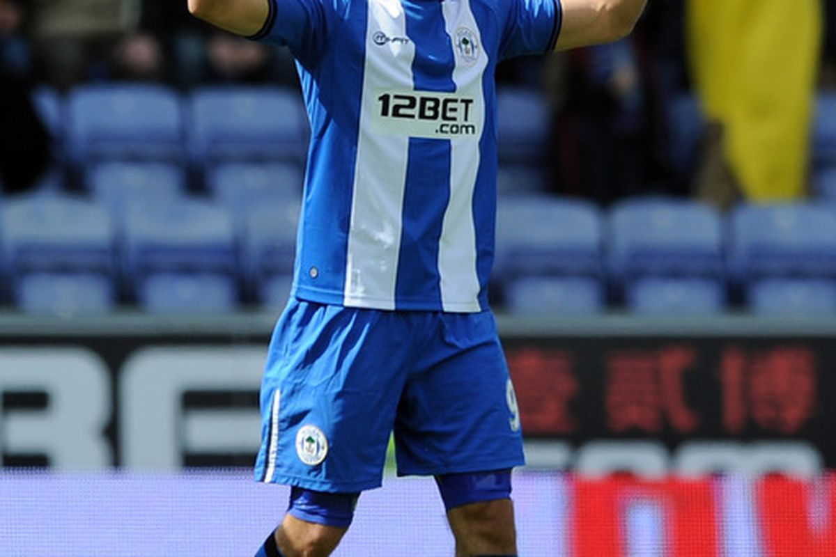 Franco Di Santo is in the form of his life.