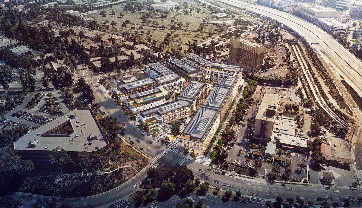 Bristol parkway aerial rendering