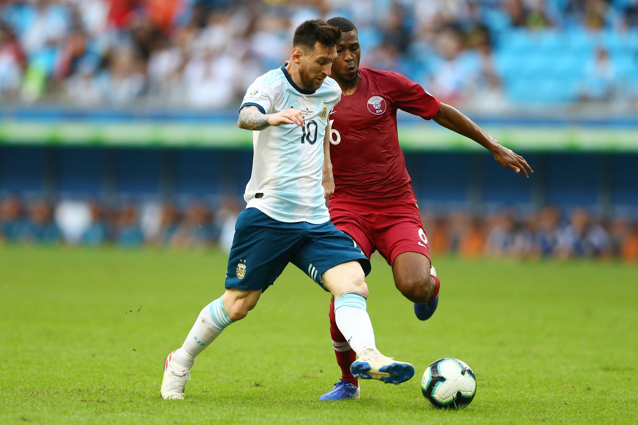 Qatar 0-2 Argentina: Qualified
