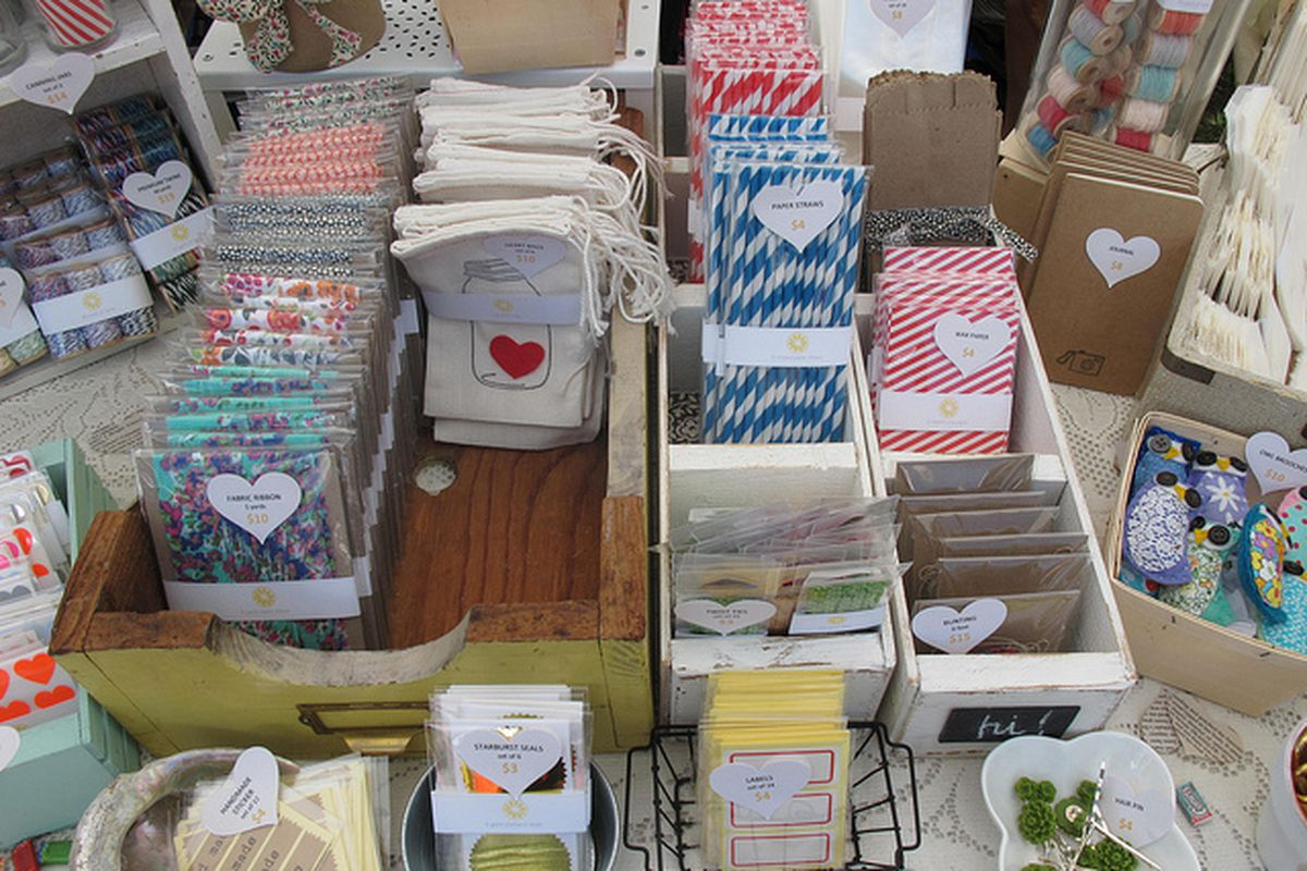 """Image of last year's event via RCF's <a href=""""http://www.flickr.com/photos/renegadecraftfair/"""">Flickr</a>"""