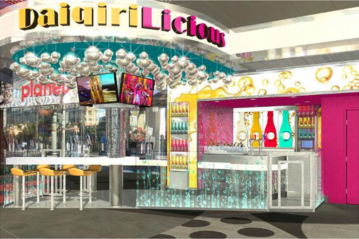 DaiqiriLicious is being built at Planet Hollywood.