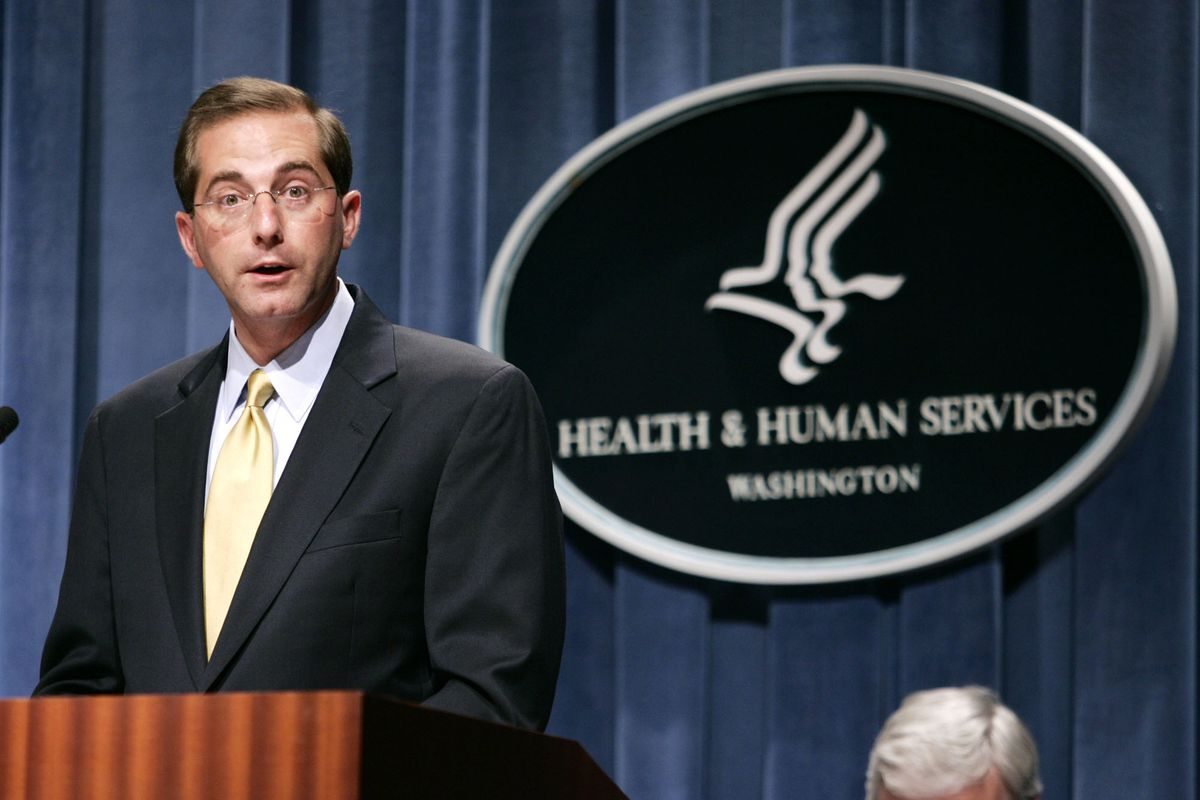 Trump picks former pharmaceutical exec Alex Azar as his next Health secretary