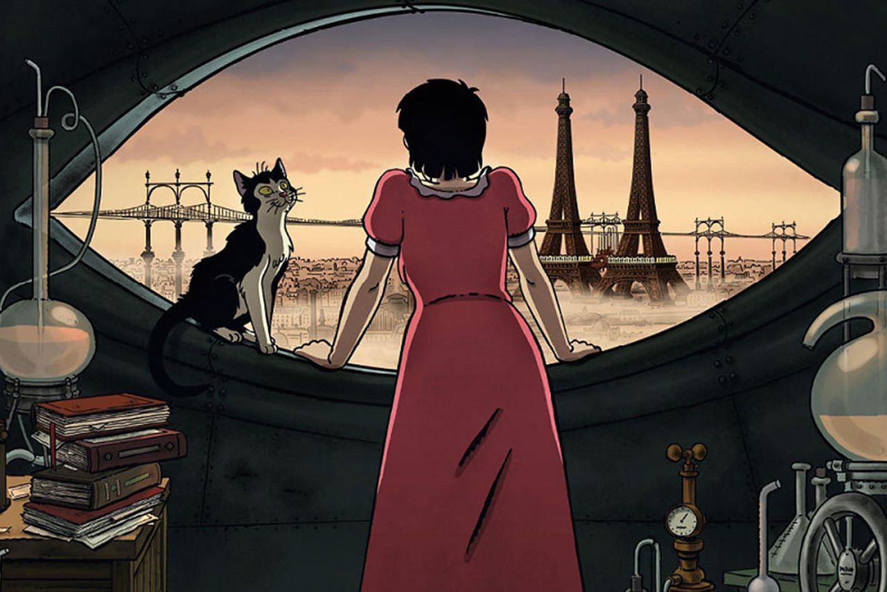 April And The Extraordinary World Finds The Heart In A Retro Mechanical Paris The Verge