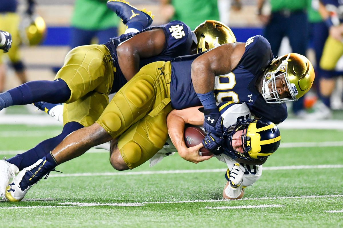 Notre Dame Football: Irish Eyes On The Future At Defensive ...