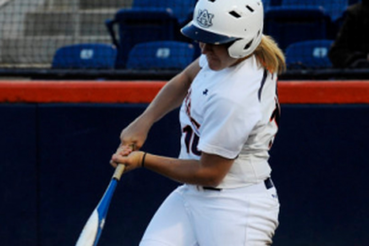 Amber Harrison hit her first home run of the season last night against South Carolina. The solo blast was enough for the Tigers to win the first game of a three game SEC Softball series in Columbia.