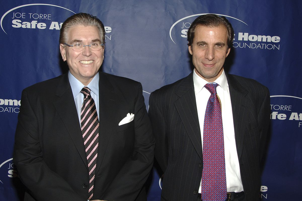 <strong>Mike Francesa</strong> and <strong>Chris Russo</strong>. (Photo by Andrew H. Walker/Getty Images)