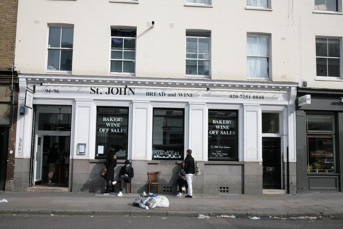 St. John Bread and Wine in Spitalfields remains closed