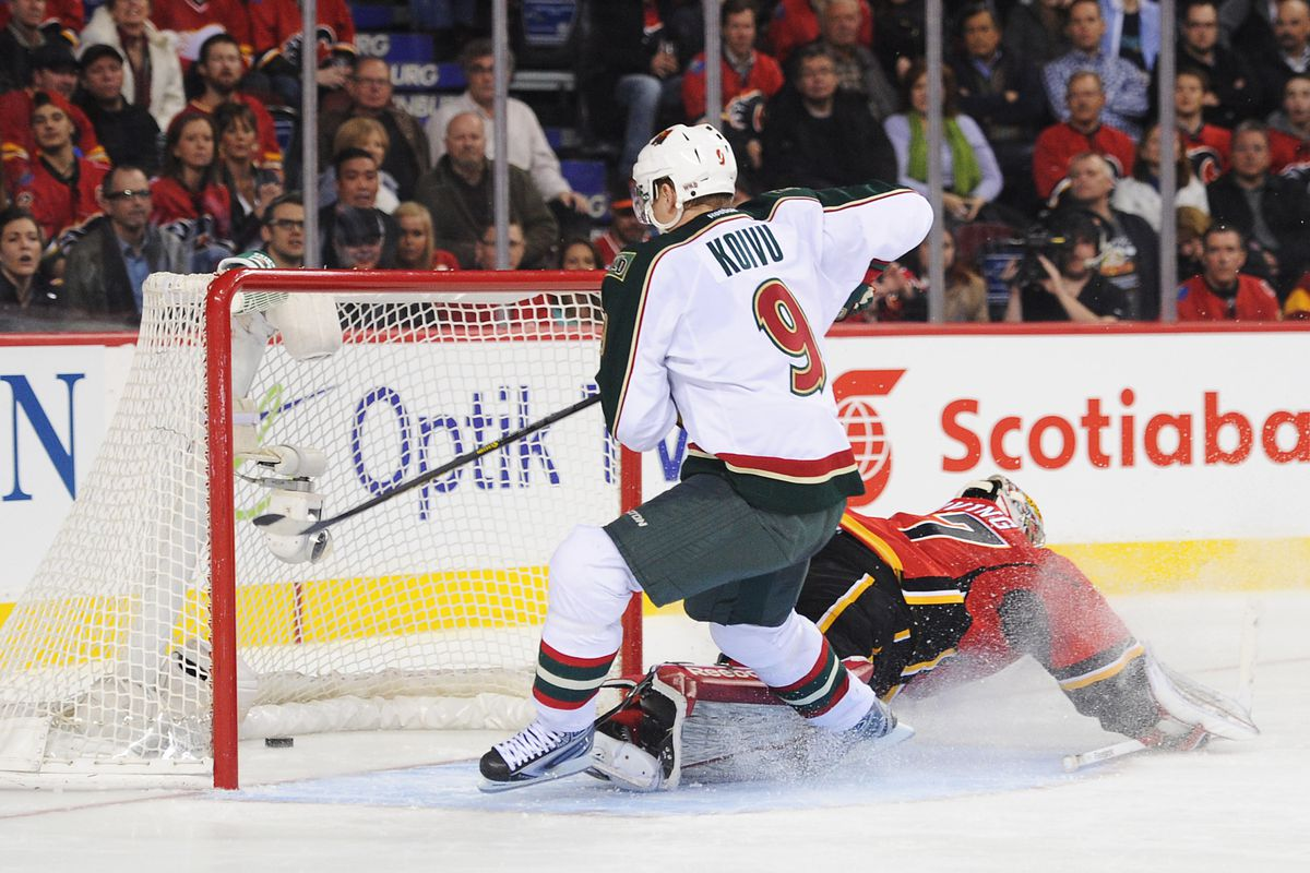 Minnesota Wild take on the Calgary Flames tonight, puck drops at 8pm.