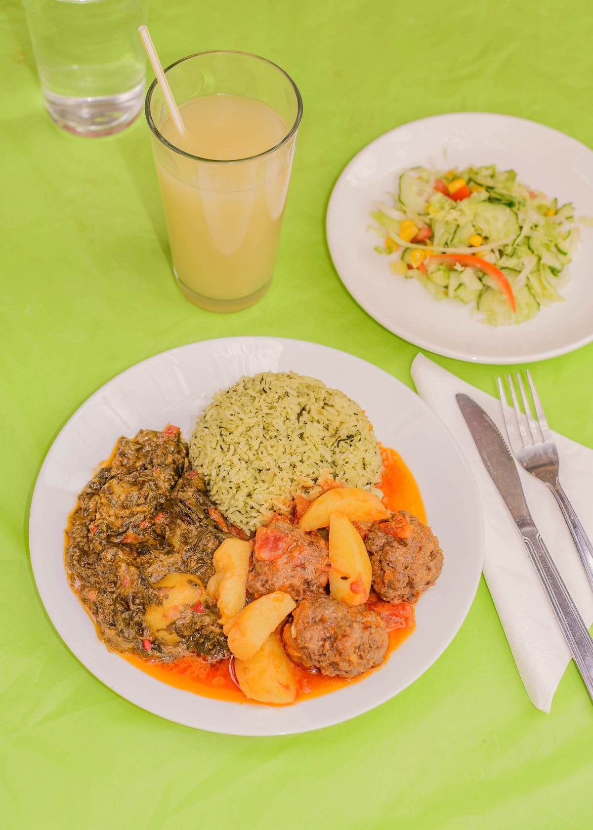 Faye Gomes' Guyanese Kaieteur Kitchen has returned in Walworth for collection, following its closure due to the COVID-19 pandemic two months ago in Elephant and Castle