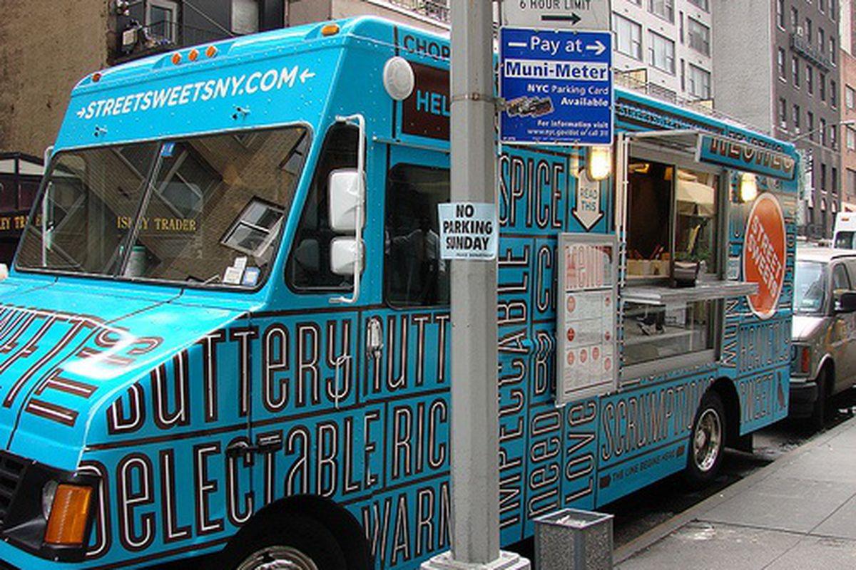 Street Sweets Truck Hits Midtown