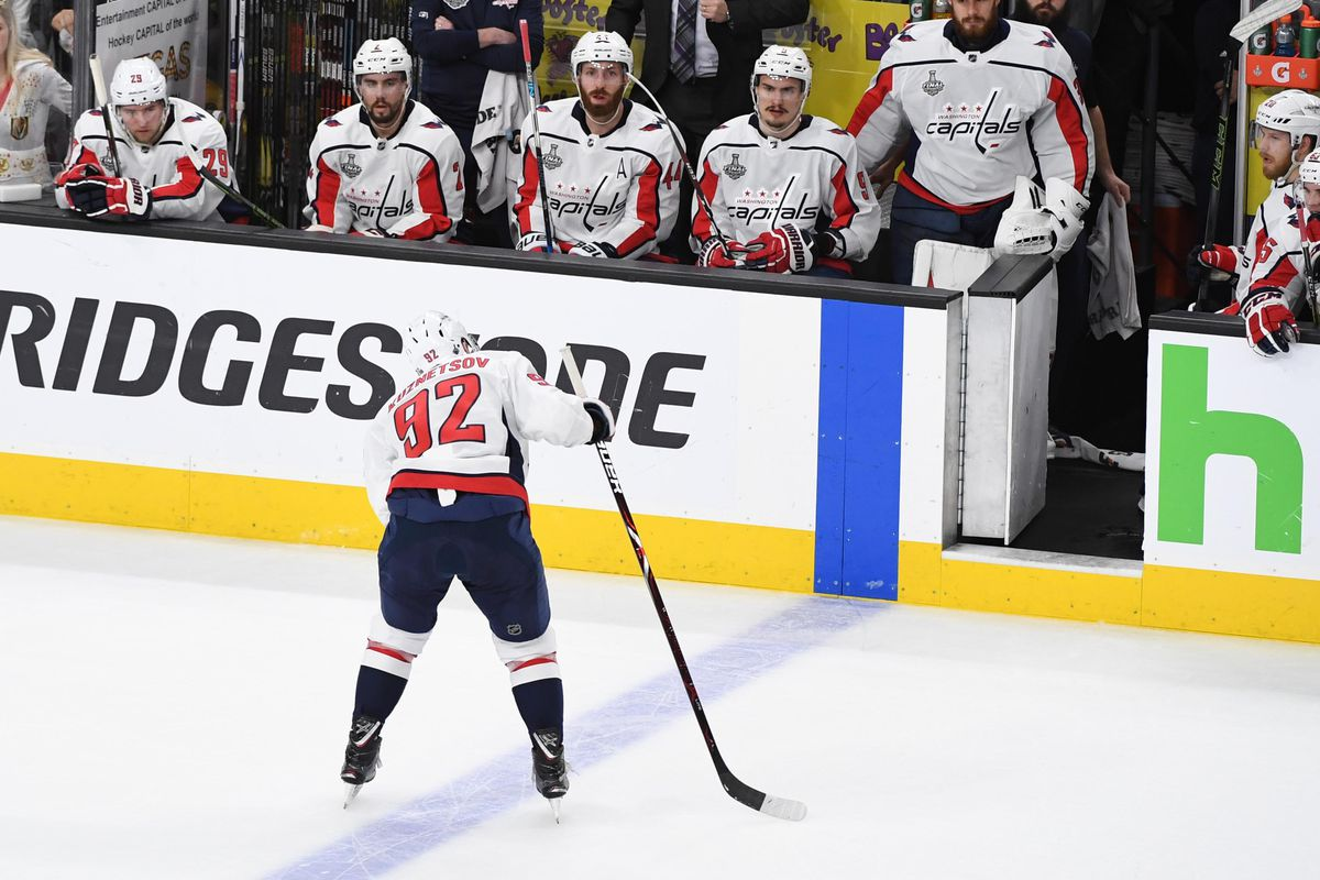 Capitals star Evgeny Kuznetsov may or may not play in Game 3 against Vegas 0a8b8687f