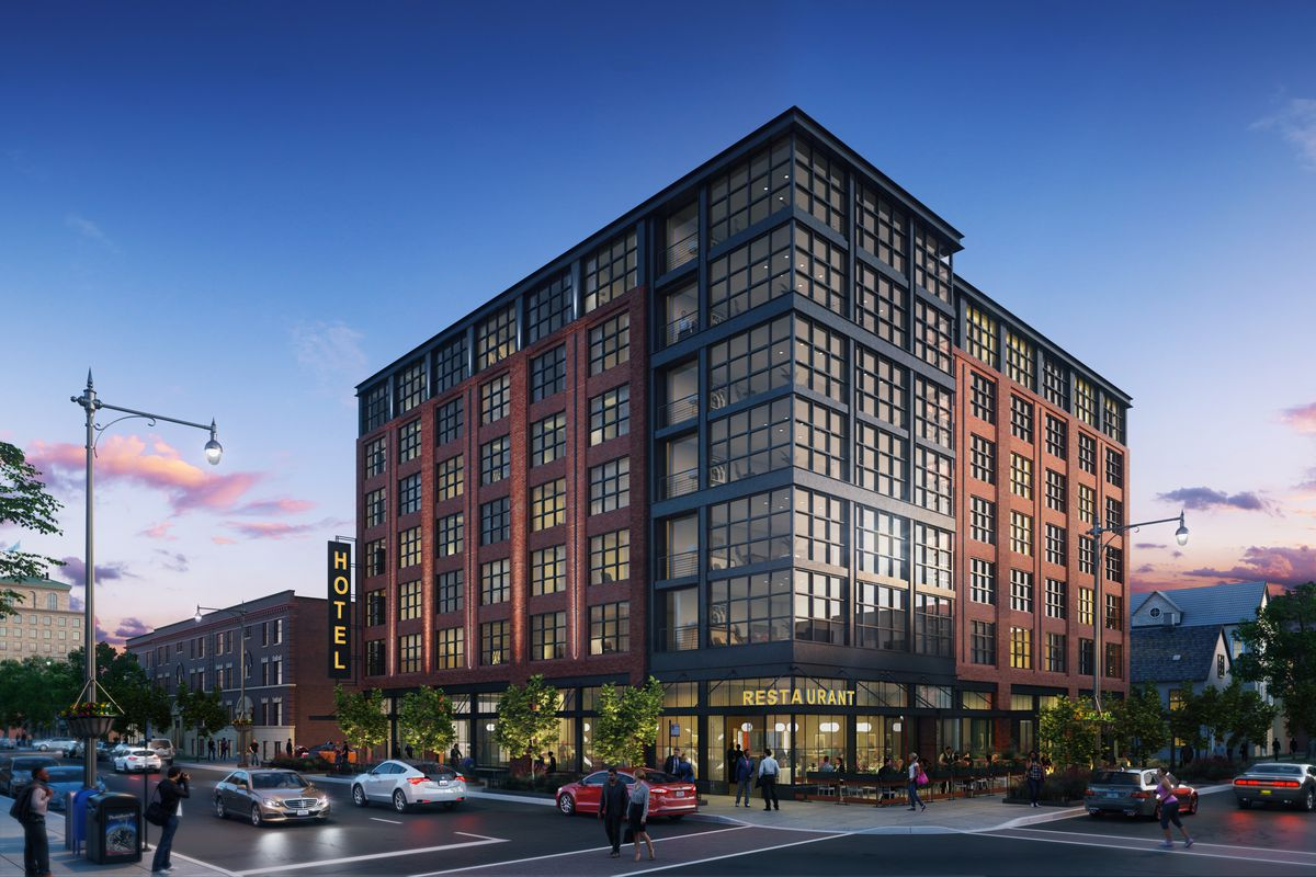 Upcoming seven story hyde park hotel will be called sophy for Boutique hotels chicago north side