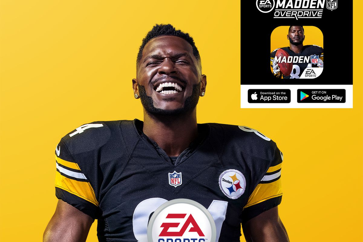 Antonio Brown is on the 'Madden NFL 19' cover  That's a