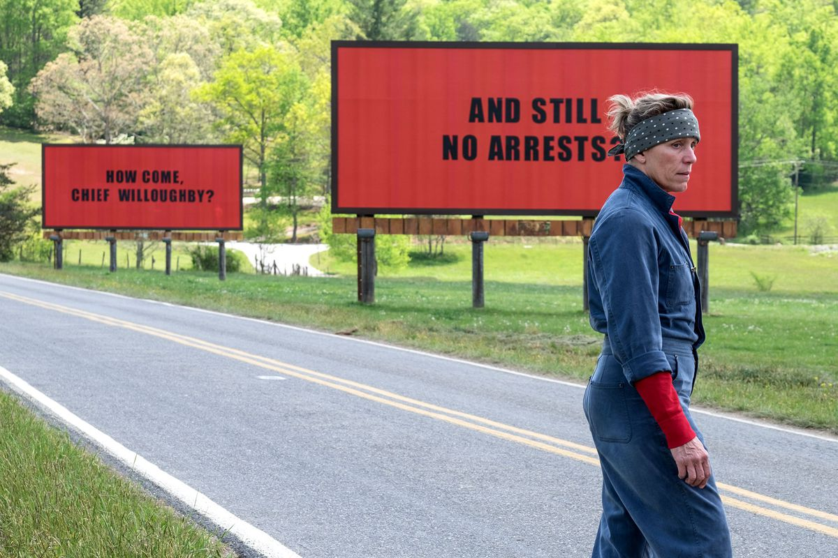 Image result for Three Billboards Film