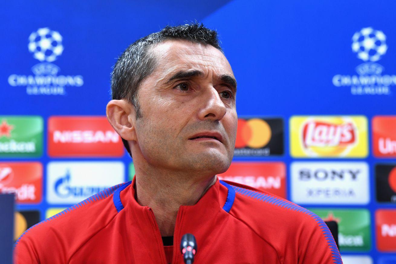 Valverde talks Iniesta, Andre Gomes & Chelsea