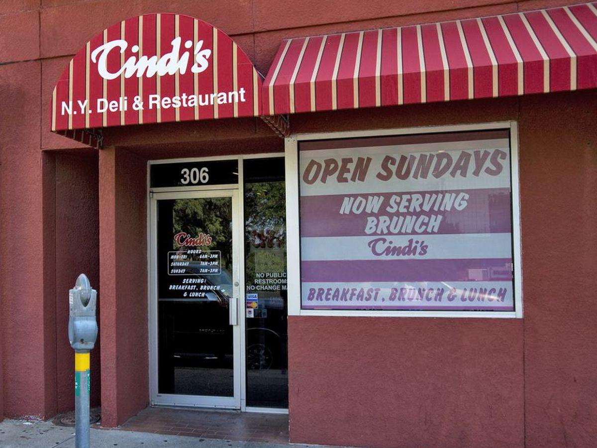 Find tasty potato pancakes at Cindi's.