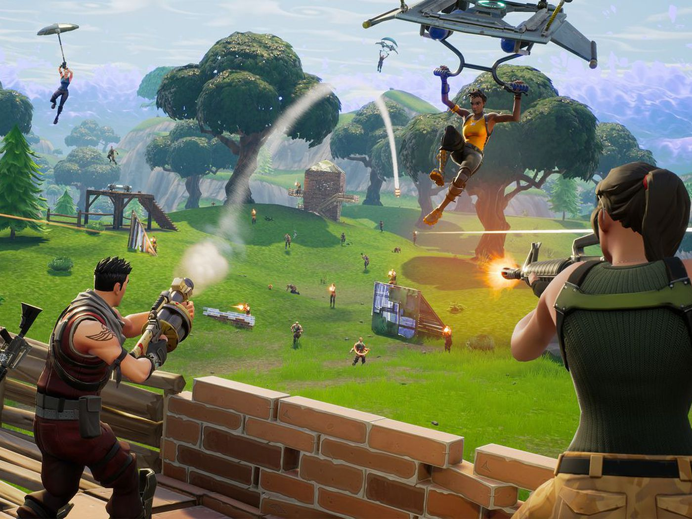 5fde05dafe44 Drake drops in to play Fortnite on Twitch and breaks the record for  most-viewed stream - The Verge