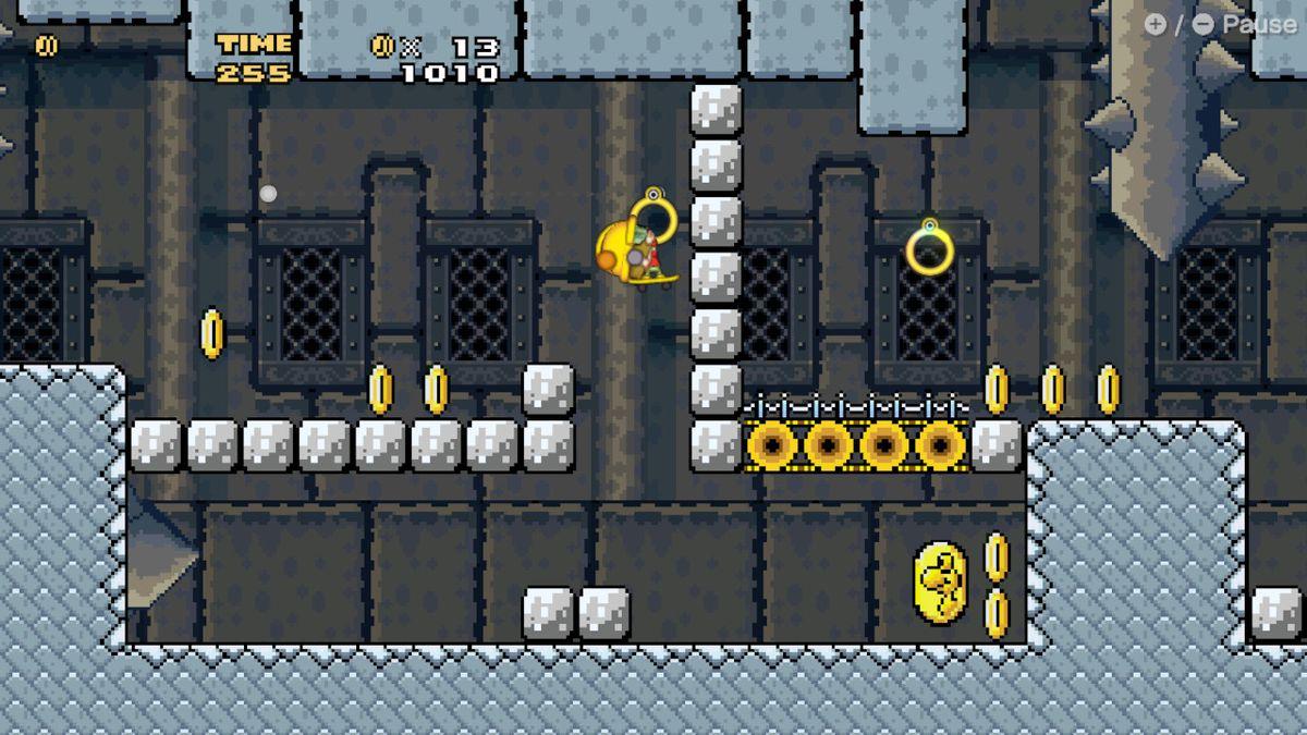 9-Volt braves Bowser's Castle in WarioWare: Get It Together!