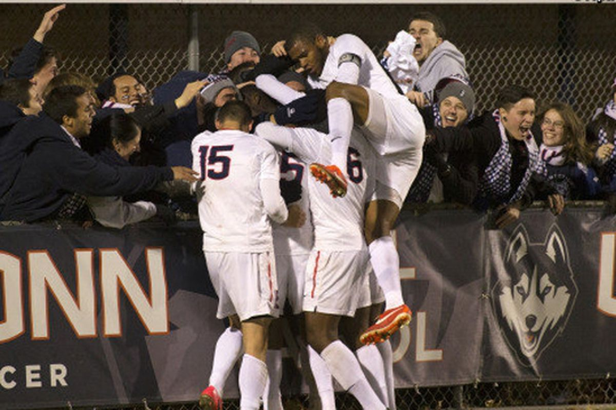 The UConn men's soccer team received plenty of votes for the top 25, despite a difficult season in 2014.