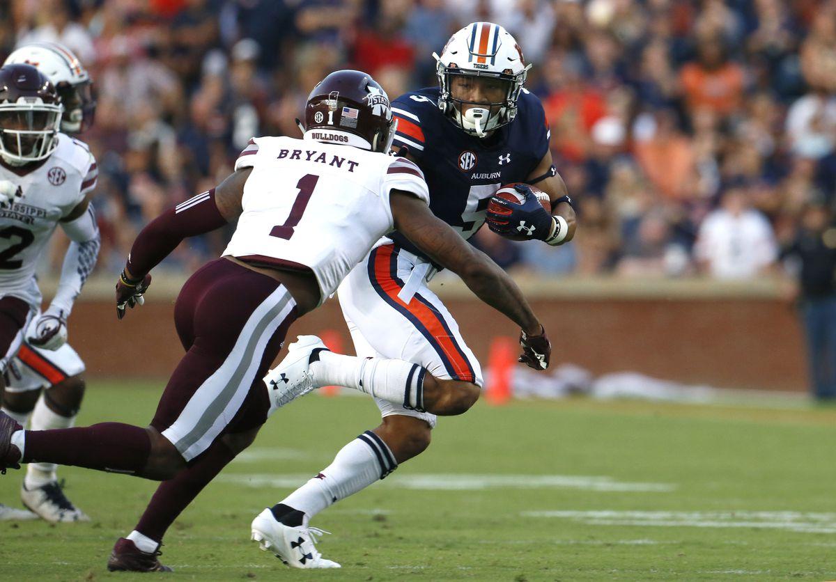 NCAA Football: Mississippi State at Auburn